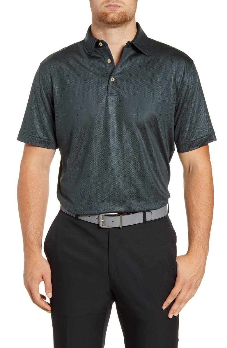 PETER MILLAR Revolution Stretch Jersey Performance Polo, Main, color, LACINATO