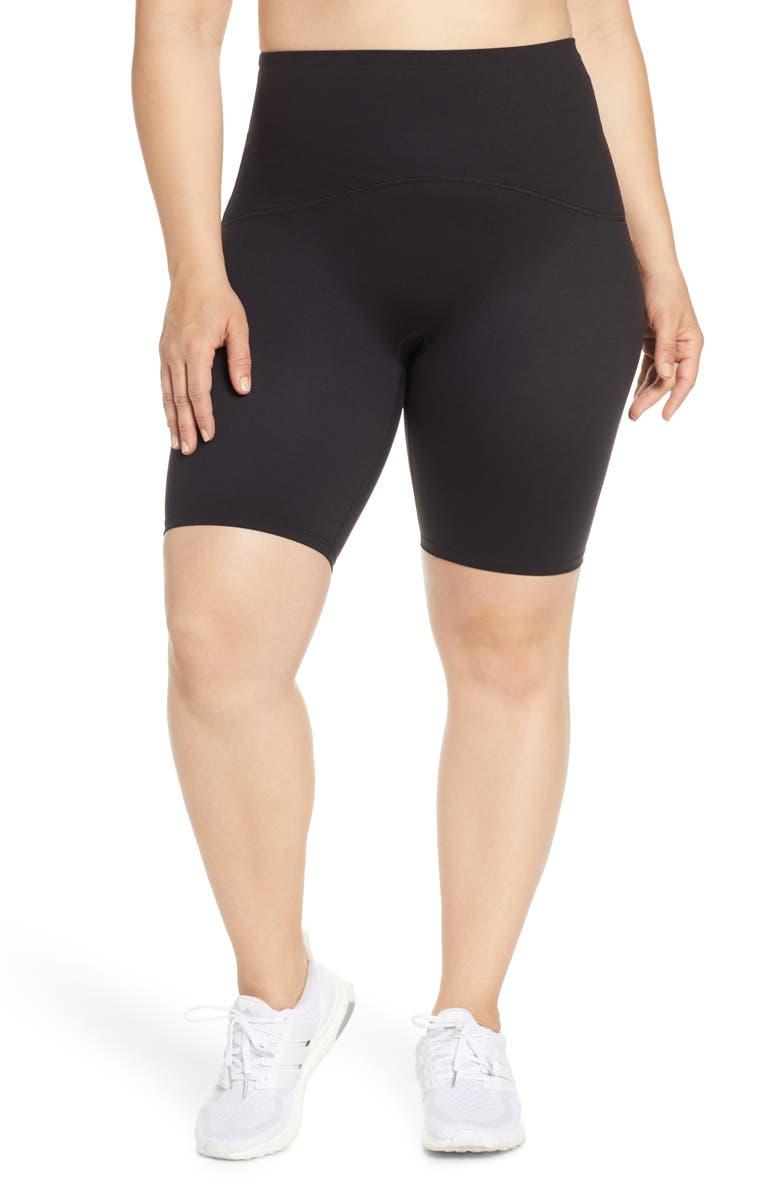 SPANX<SUP>®</SUP> Active Bike Shorts, Main, color, BLACK