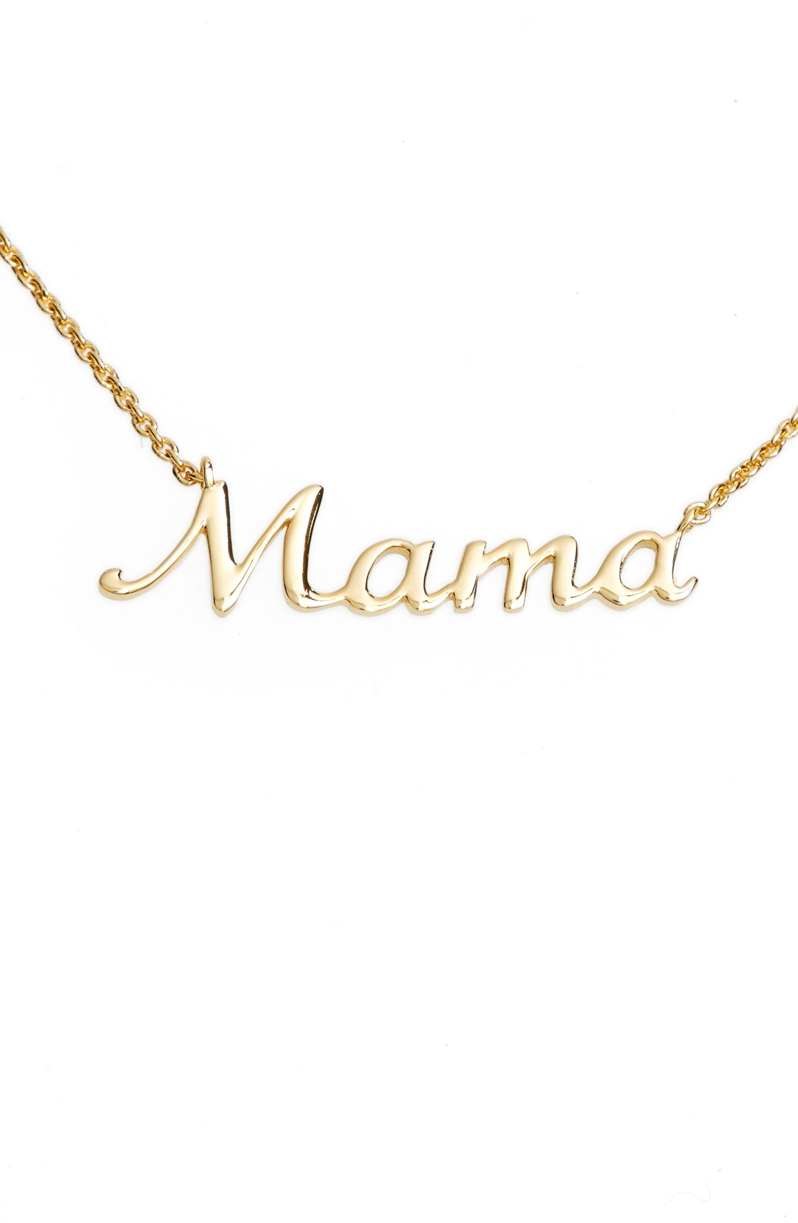 Women's Argento Vivo Mama Pendant Necklace