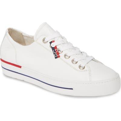 Paul Green Carly Low Top Sneaker, US / 4.5UK - White