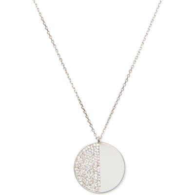 Kate Spade New York Mod Scallop Pave Pendant Necklace
