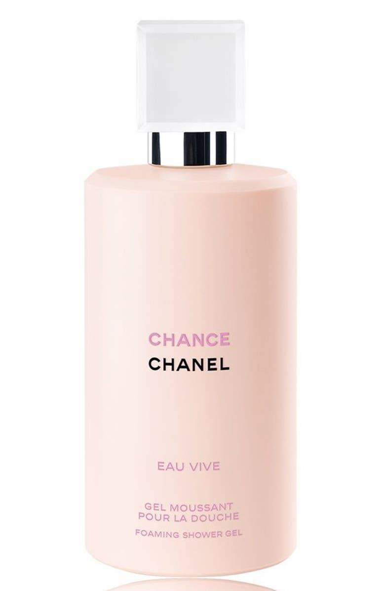 CHANEL CHANCE EAU VIVE Foaming Shower Gel, Main, color, 000