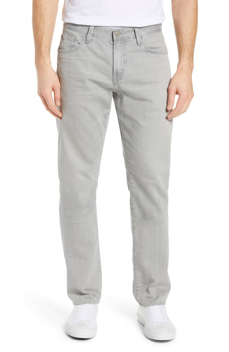 AG Everett Slim Straight Leg Jeans, Main, color, 020