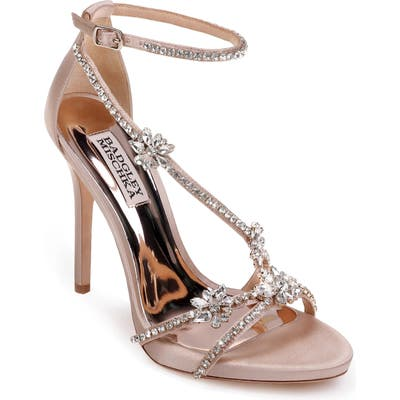 Badgley Mischka Hodge Strappy Sandal, Beige