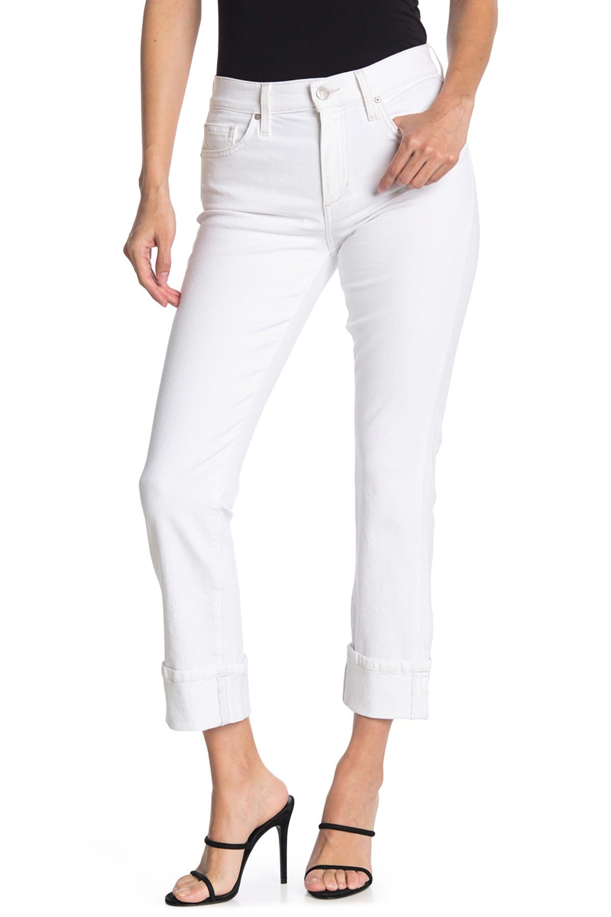 Image of Joe's Jeans Mid Rise Straight Crop