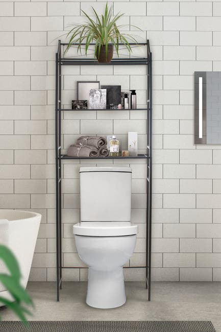 Image of Sorbus Bathroom  Storage Shelf Over-the-Toilet Space Saver