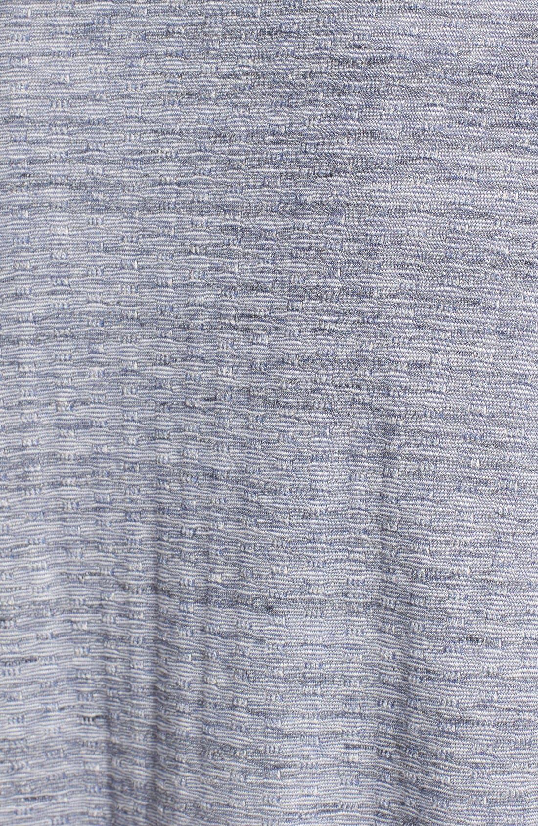 ,                             One-Button Fleece Wrap Cardigan,                             Alternate thumbnail 115, color,                             410