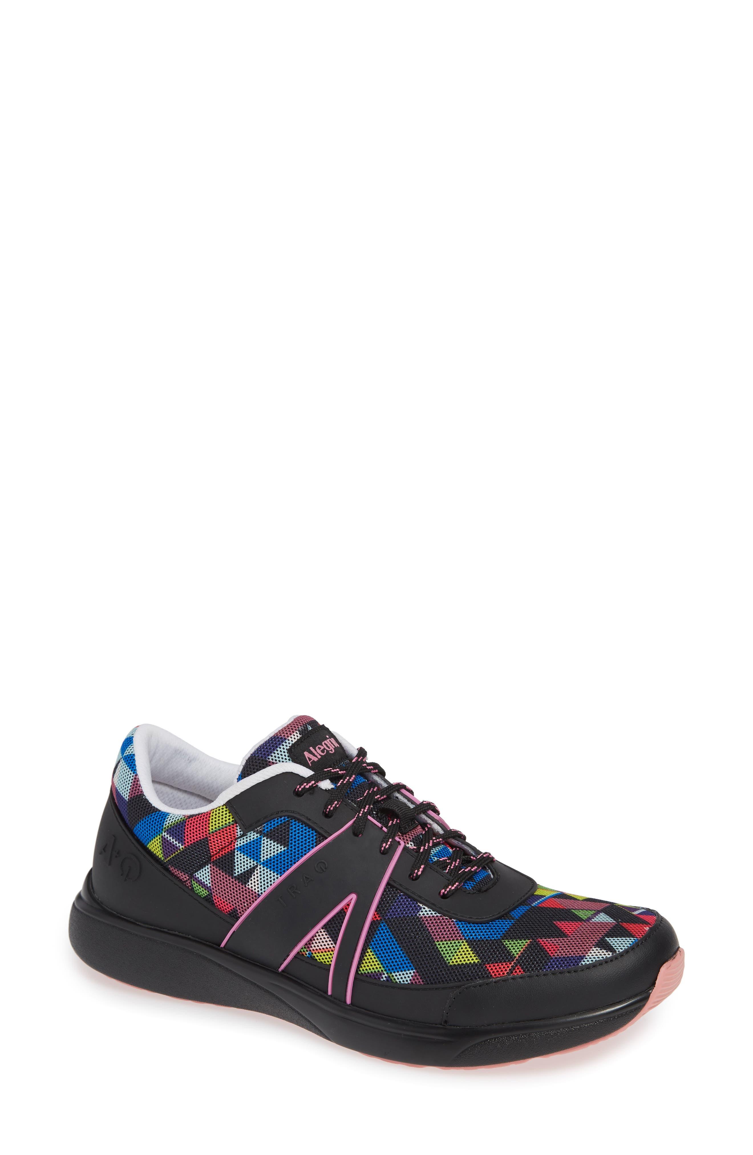 Alegria Qarma Sneaker, Black