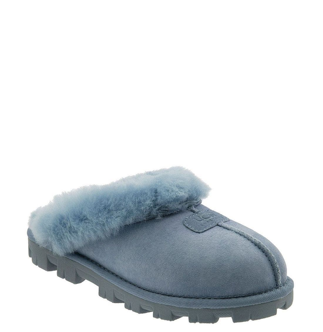 ,                             Genuine Shearling Slipper,                             Main thumbnail 163, color,                             CFL