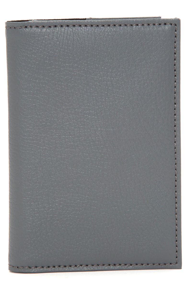 WOLF Howard Passport Case, Main, color, GREY