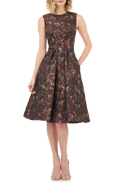 Kay Unger Dresses ADRIANNA FIT & FLARE DRESS