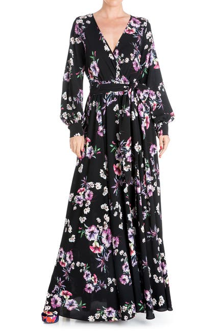Image of Meghan LA Lilypad Floral Maxi Dress