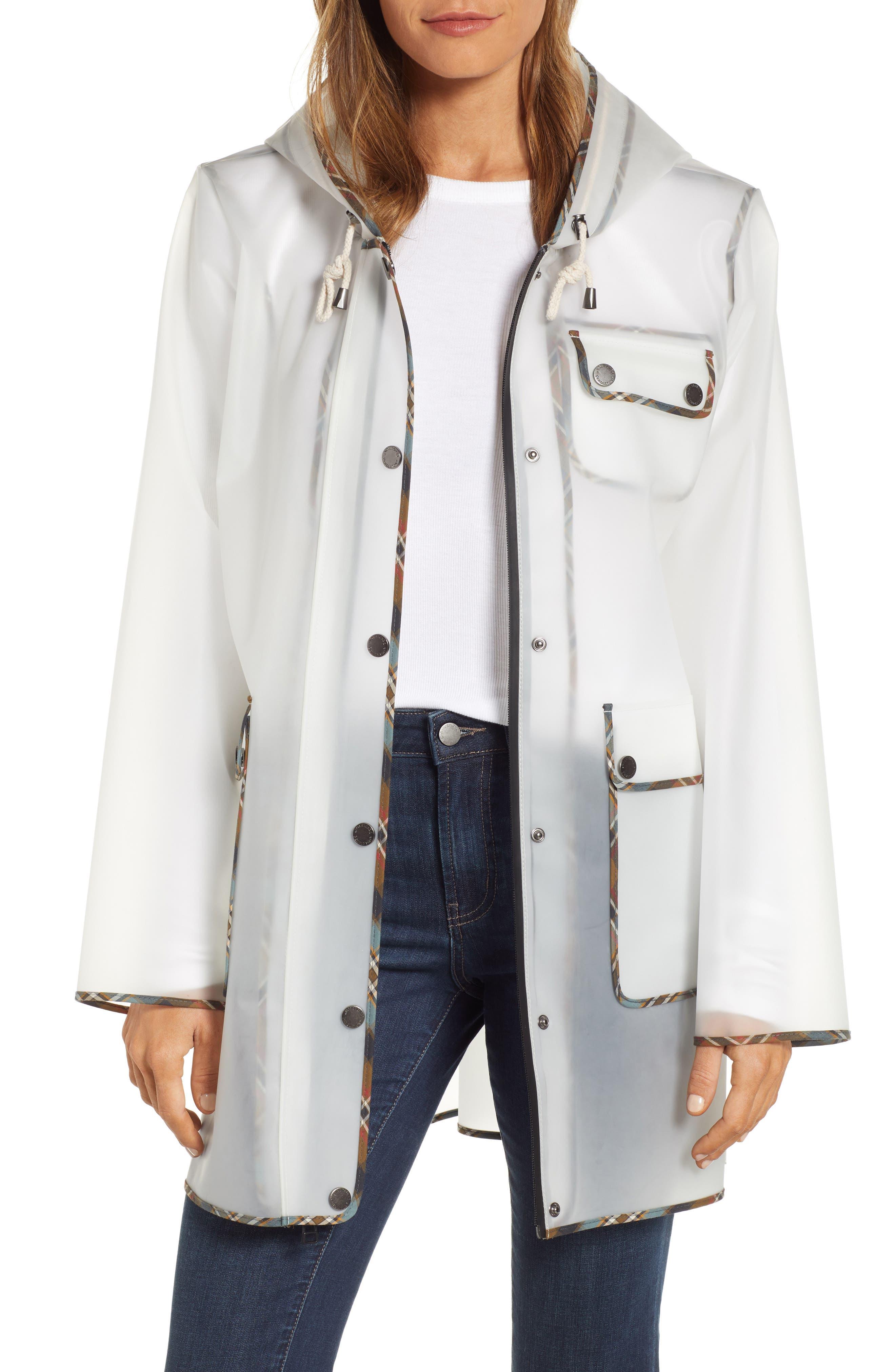 Manzanita Hooded Rain Jacket, Main, color, DEW