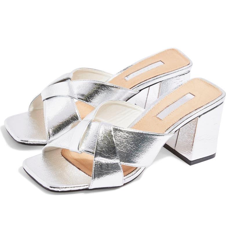 TOPSHOP Roux Slide Sandal, Main, color, 040