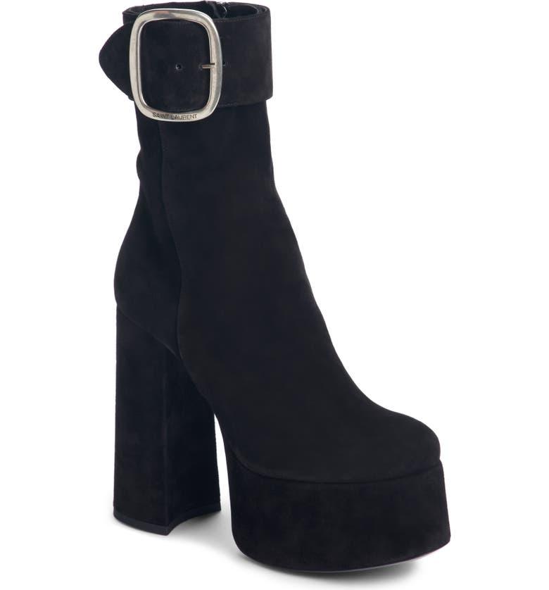 62a8f193ac Saint Laurent Billy Platform Boot (Women) | Nordstrom