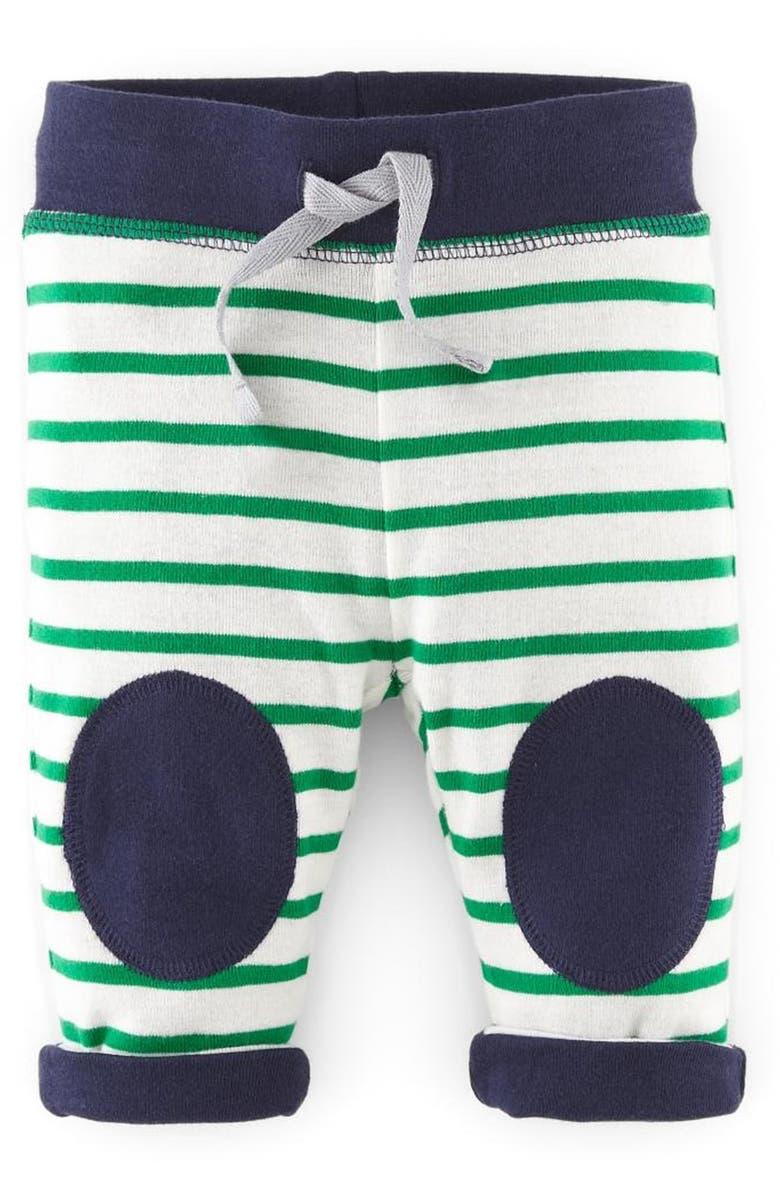 MINI BODEN Reversible Knee Patch Pants, Main, color, 414