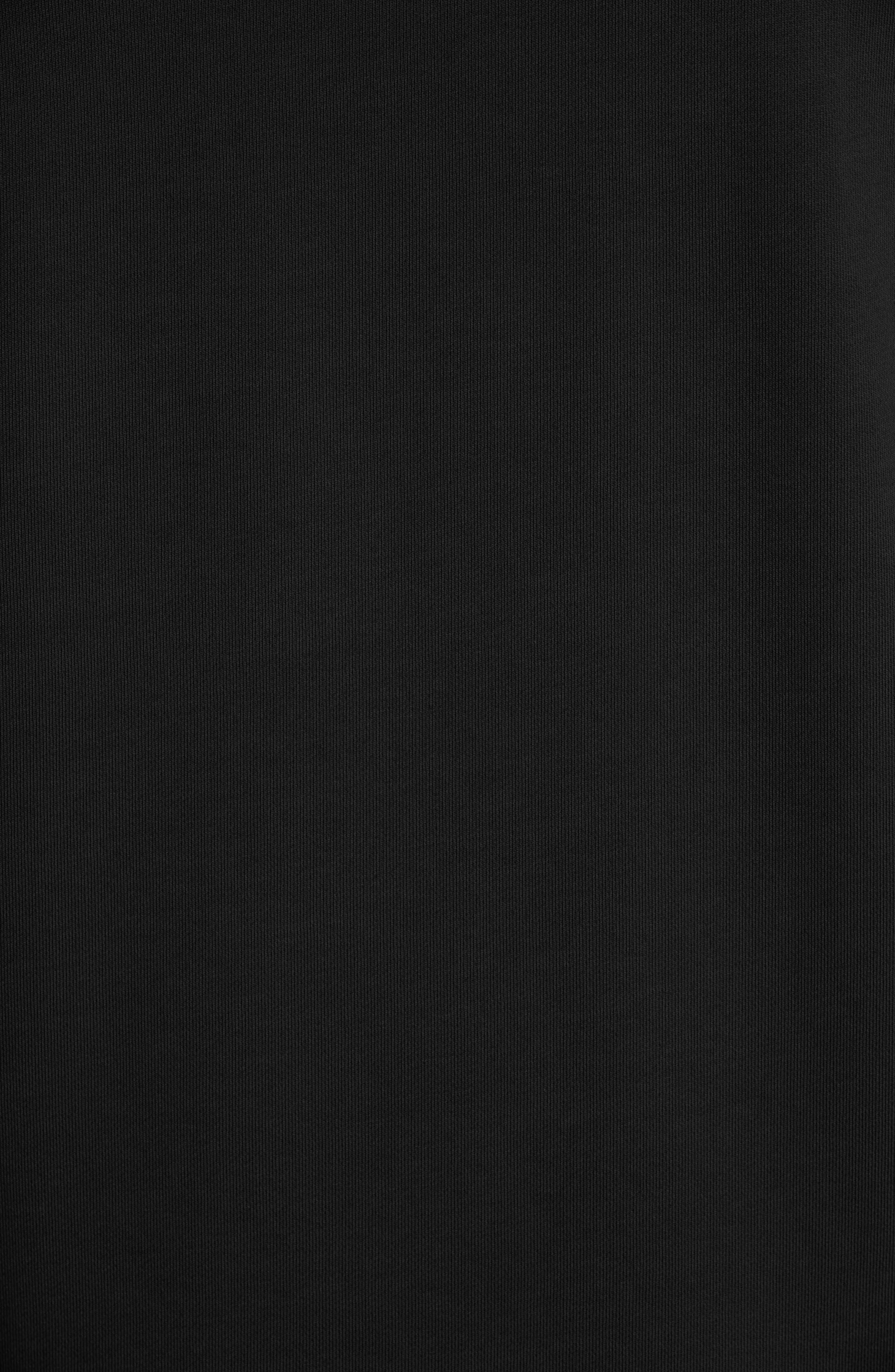 ,                             Pullover Hoodie,                             Alternate thumbnail 5, color,                             BLACK