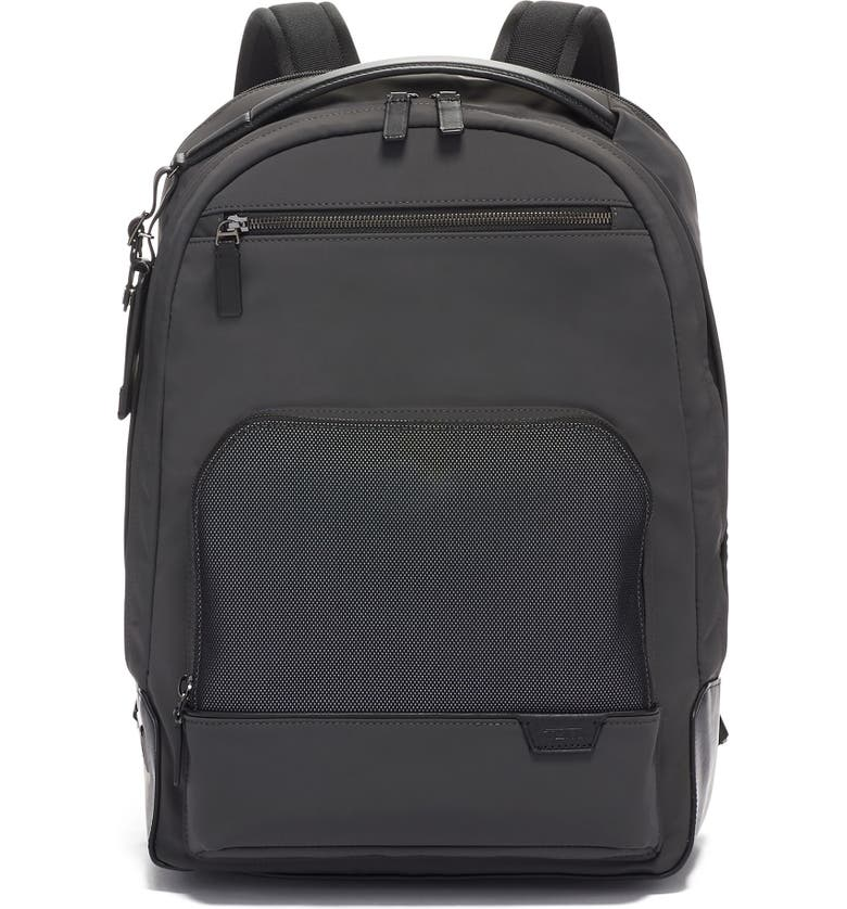 TUMI Warren Backpack, Main, color, REFLECTIVE IRON