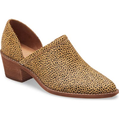 Madewell The Brady Block Heel Bootie, Brown