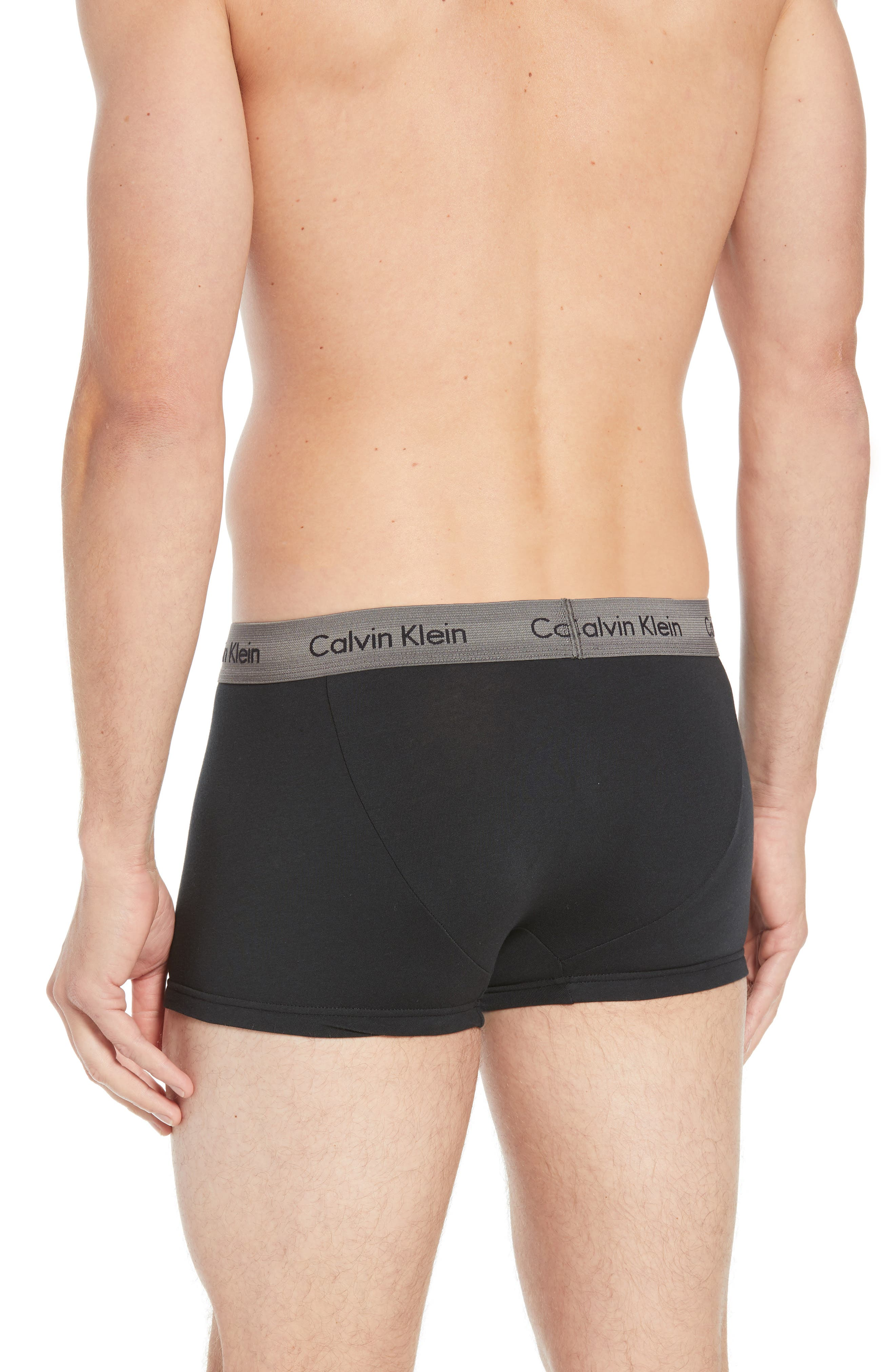 ,                             3-Pack Stretch Cotton Low Rise Trunks,                             Alternate thumbnail 51, color,                             014