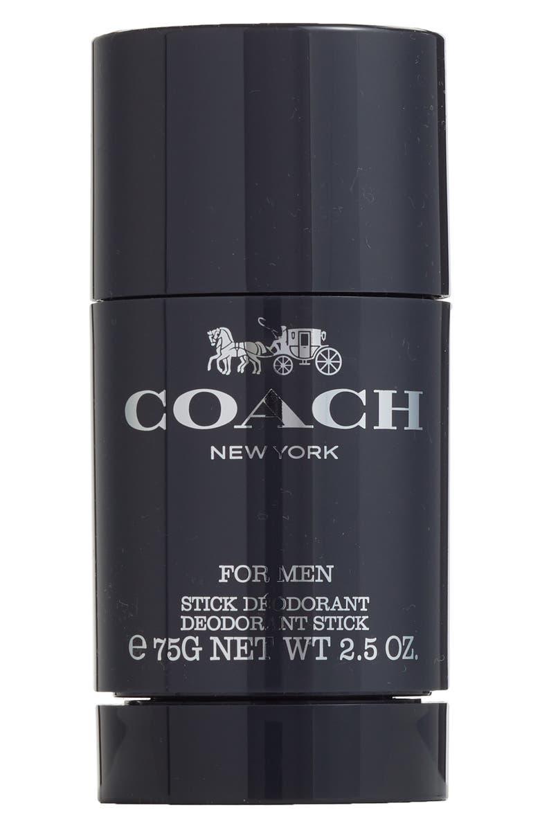 COACH for Men Deodorant Stick, Main, color, NO COLOR