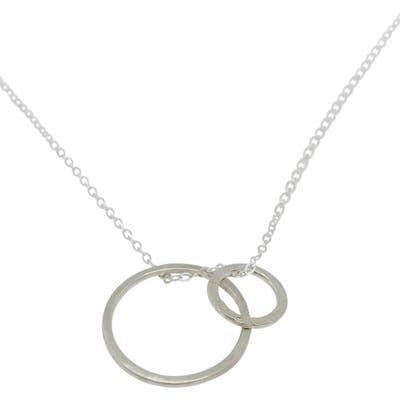 Nashelle Identity Mother & Child Hoop Pendant Necklace