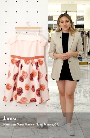 Curve Jess Off the Shoulder Fit & Flare Dress, sales video thumbnail
