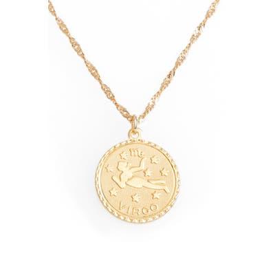 Cam Ascending Zodiac Medallion Necklace