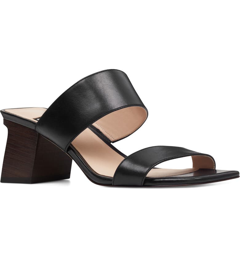 NINE WEST Churen - 40th Anniversary Capsule Collection Sandal, Main, color, 001