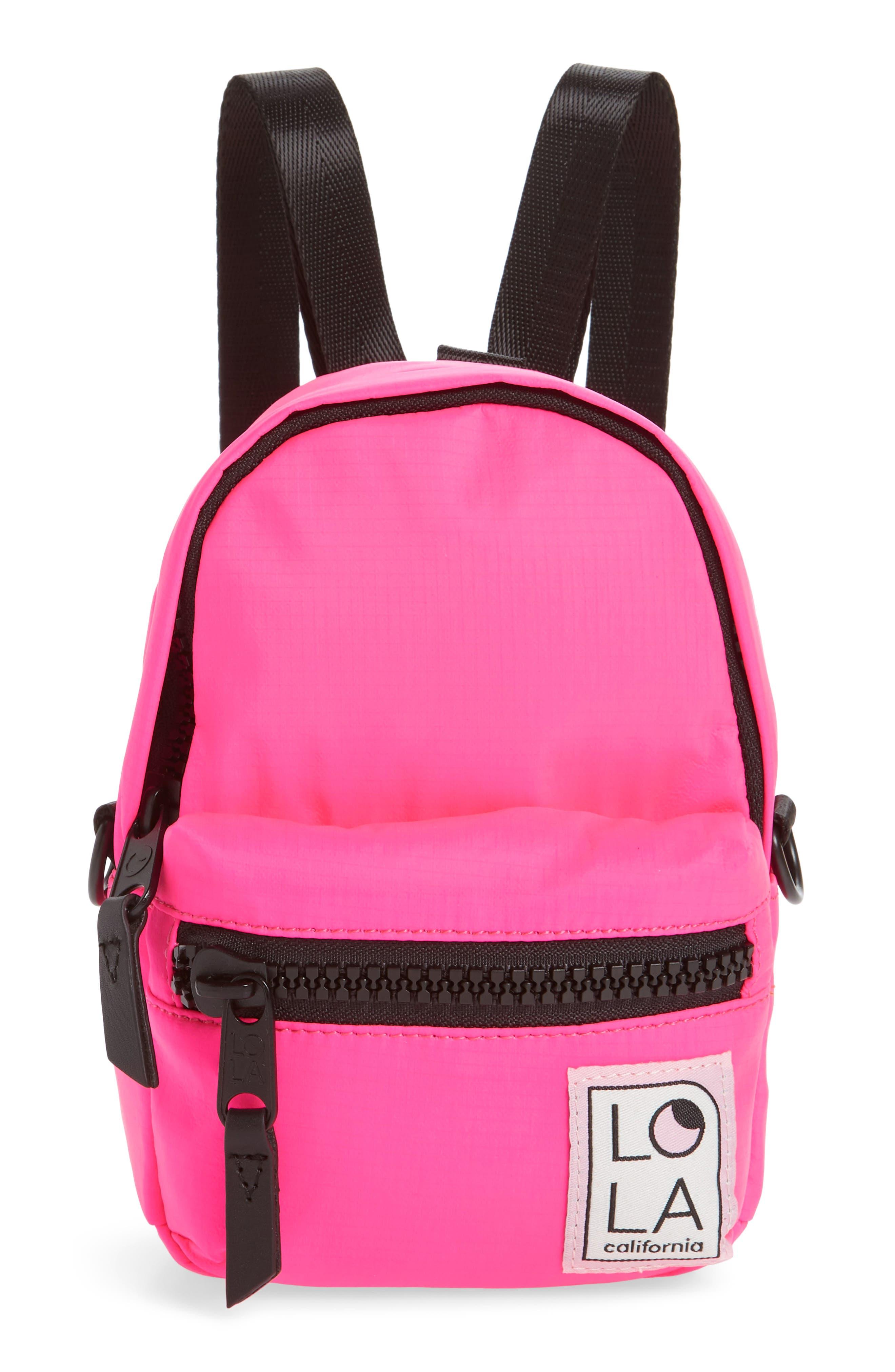 Lola Los Angeles Stargazer Mini Convertible Backpack - Pink