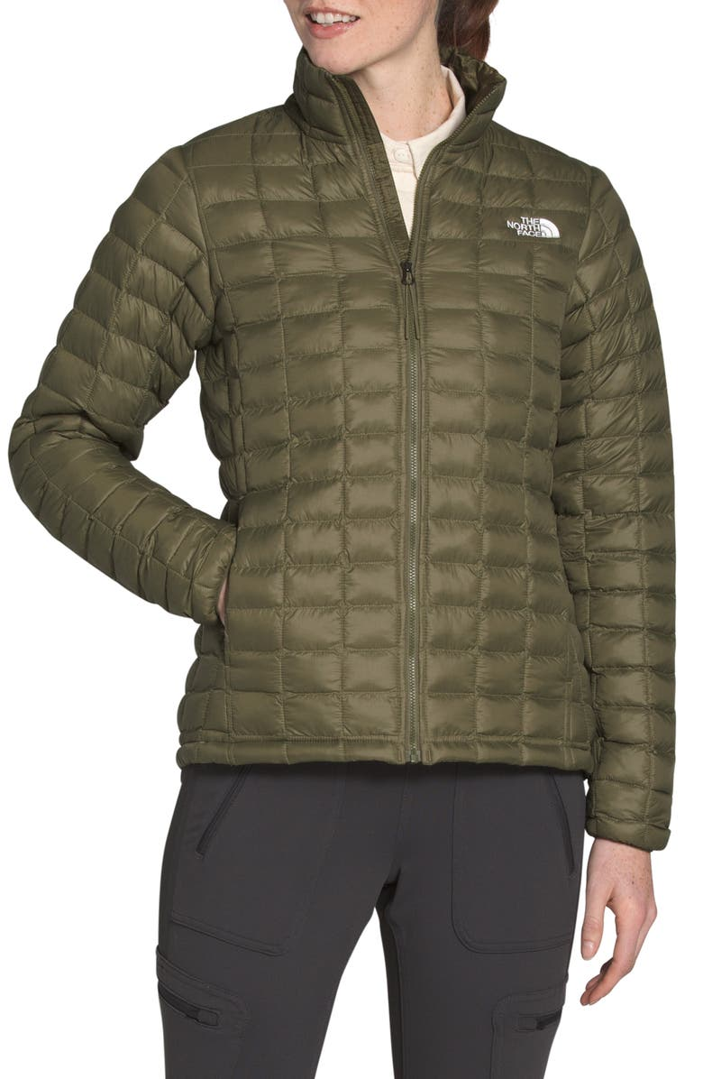 THE NORTH FACE ThermoBall<sup>™</sup> Eco Packable Jacket, Main, color, BURNT OLIVE GREEN MATTE