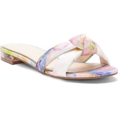Jessica Simpson Alisen Crystal Embellished Slide Sandal, Pink