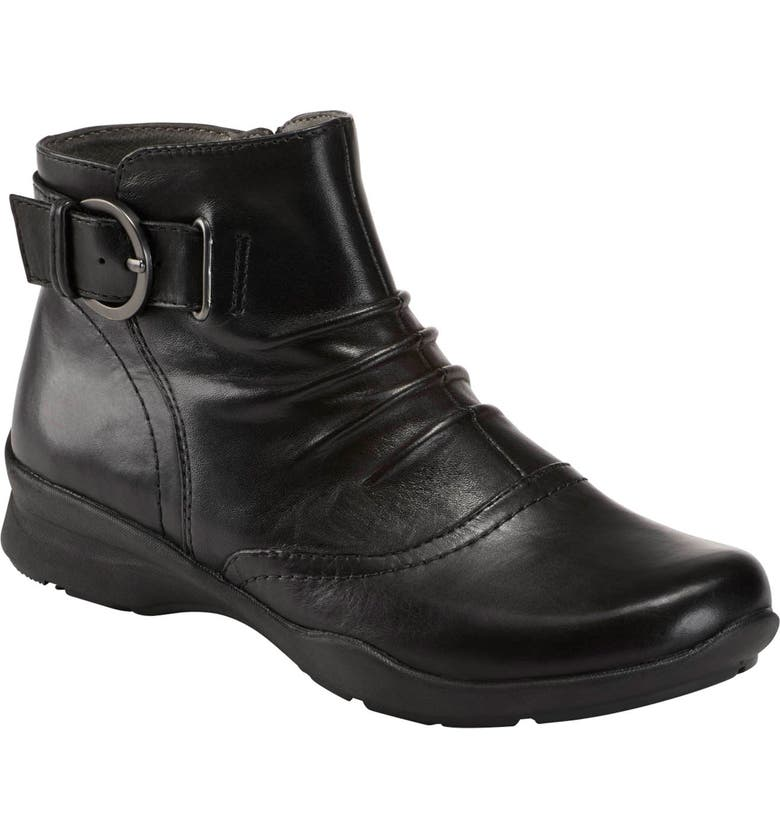 EARTH<SUP>®</SUP> Natural Tahoe Bootie, Main, color, BLACK LEATHER