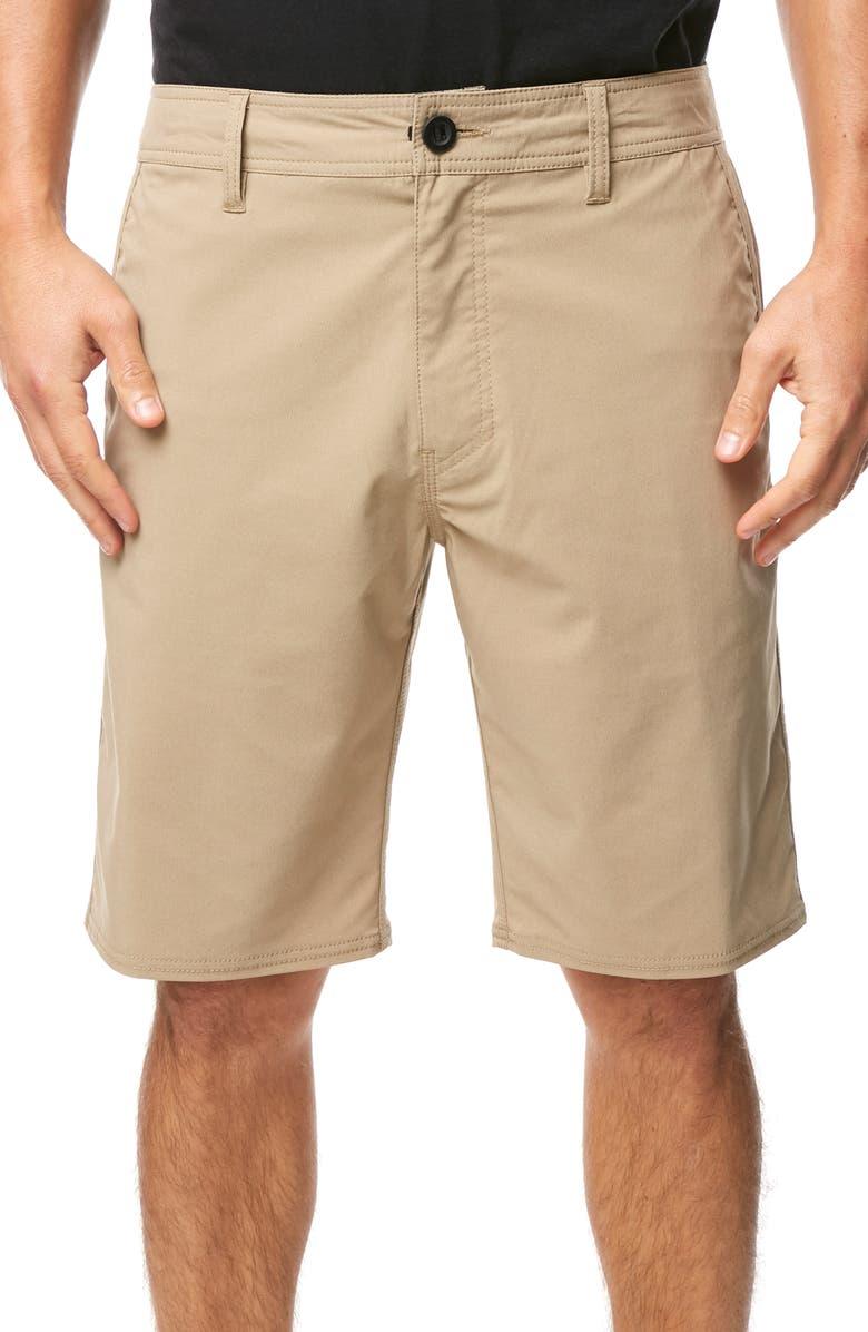 O'NEILL Stockton Hybrid Shorts, Main, color, KHAKI