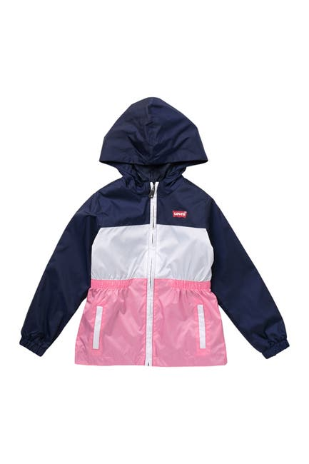 Image of Levi's Hooded Tiered Windbreaker