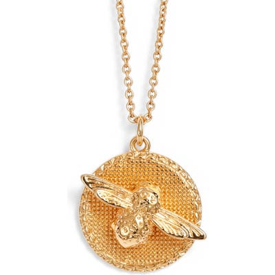 Olivia Burton Bee Pendant Necklace