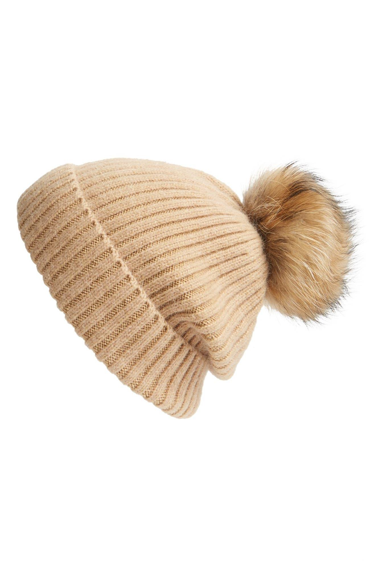 097ec77871ade Linda Richards Genuine Raccoon Fur Hat