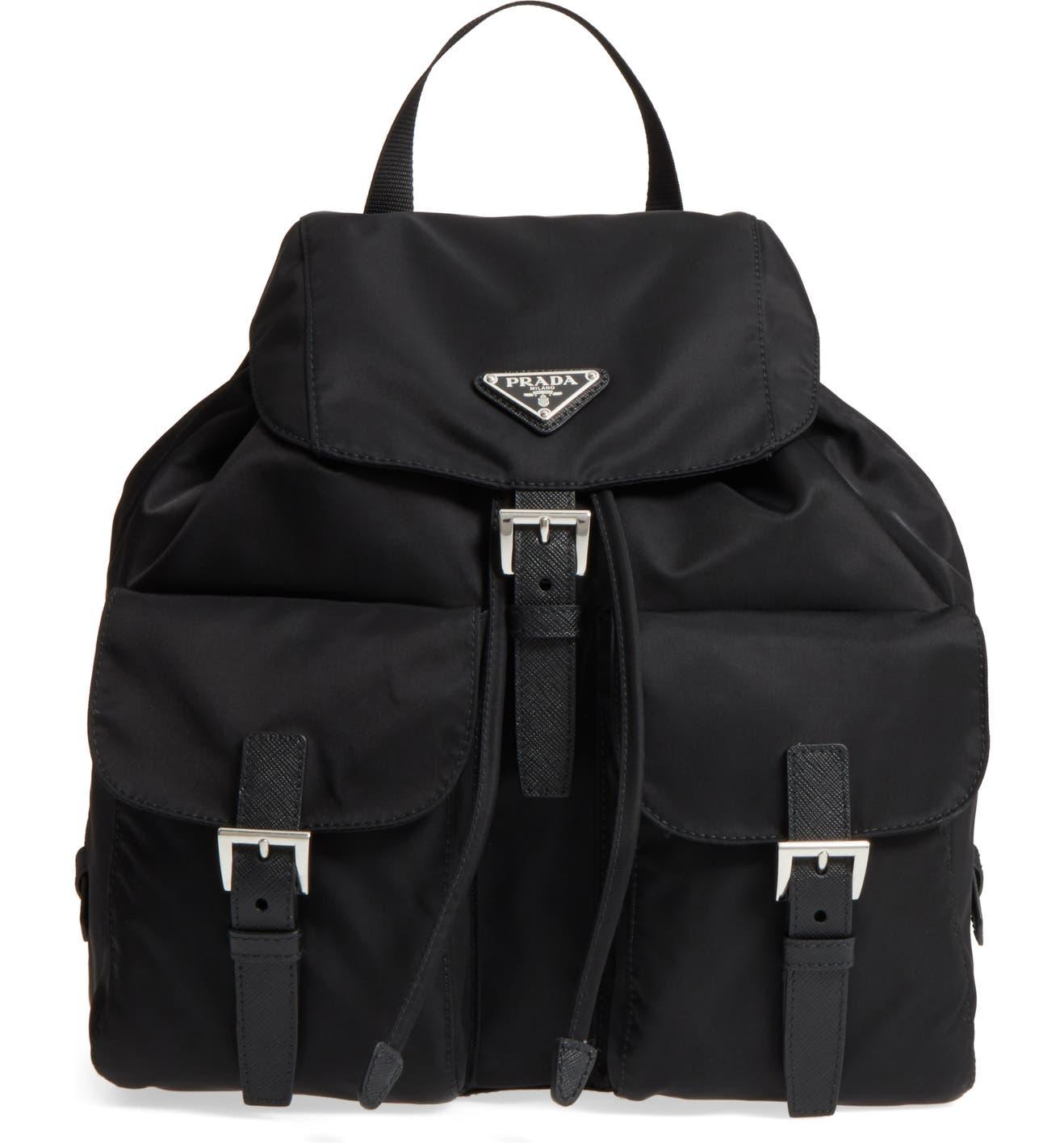 7e748b3f50fffc Prada Large Nylon Backpack | Nordstrom