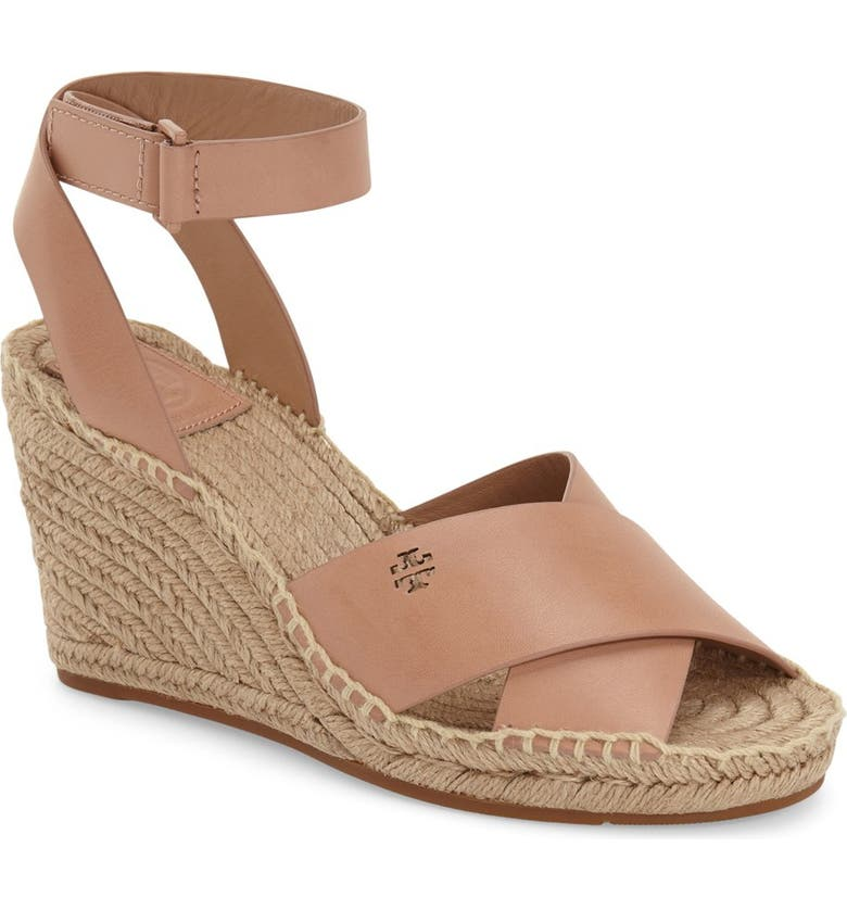 TORY BURCH 'Bima' Espadrille Wedge, Main, color, 256