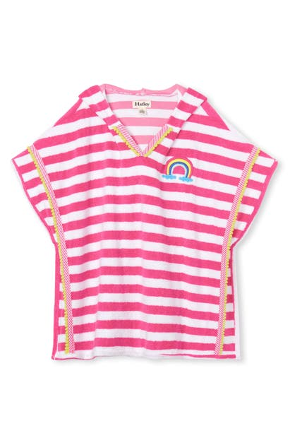 Hatley Tops KIDS' OVER THE RAINBOW HOODED COVER-UP TUNIC