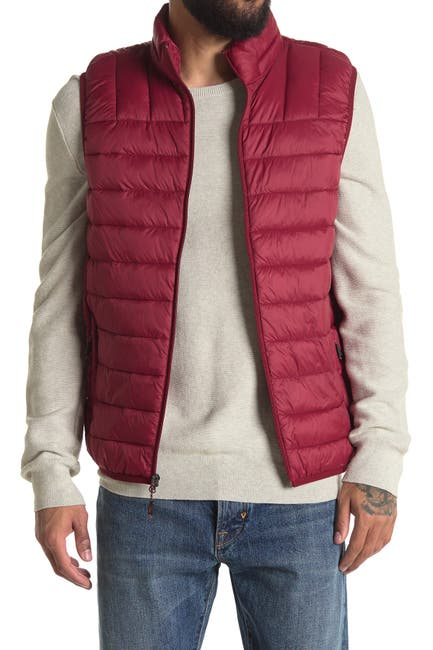 Image of Hawke & Co. Quilted Zip Up Vest