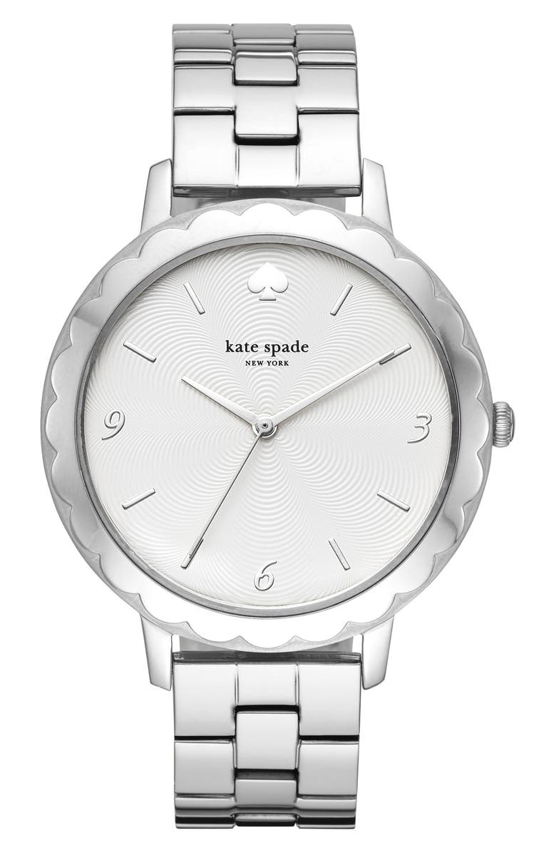 KATE SPADE NEW YORK metro bracelet watch, 38mm, Main, color, 040