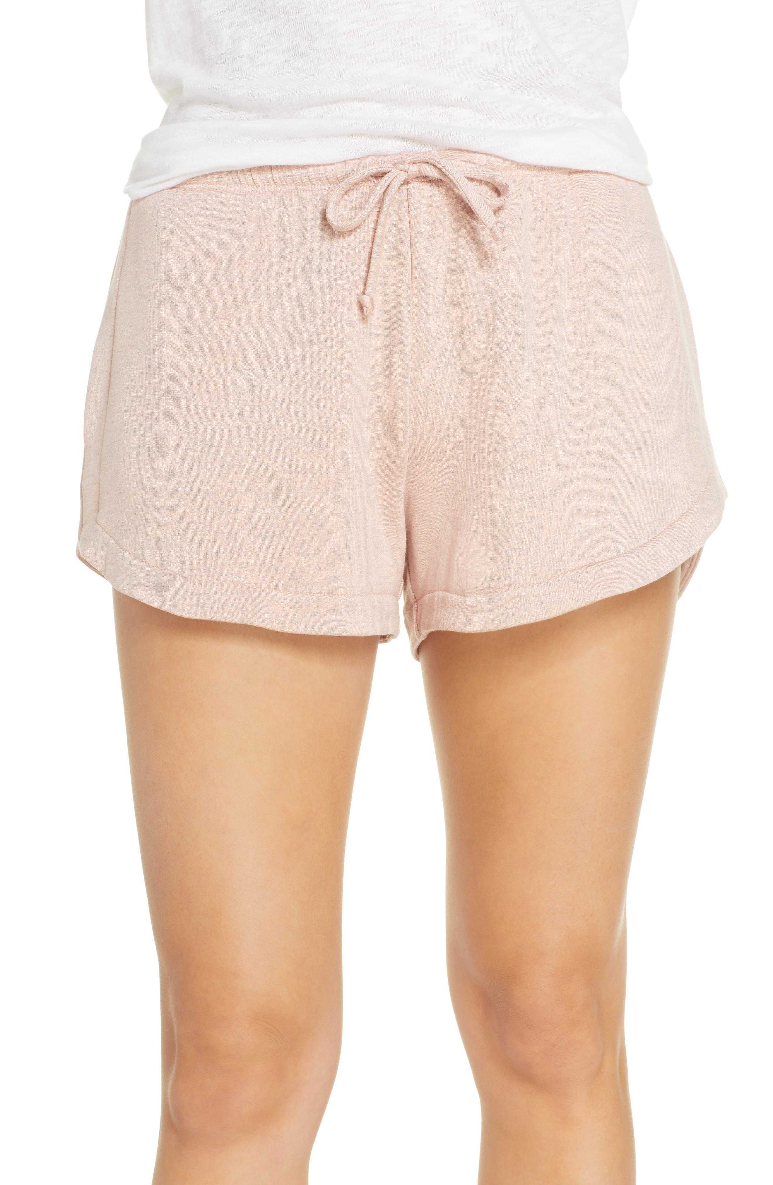 Socialite Pajama Shorts, Pink