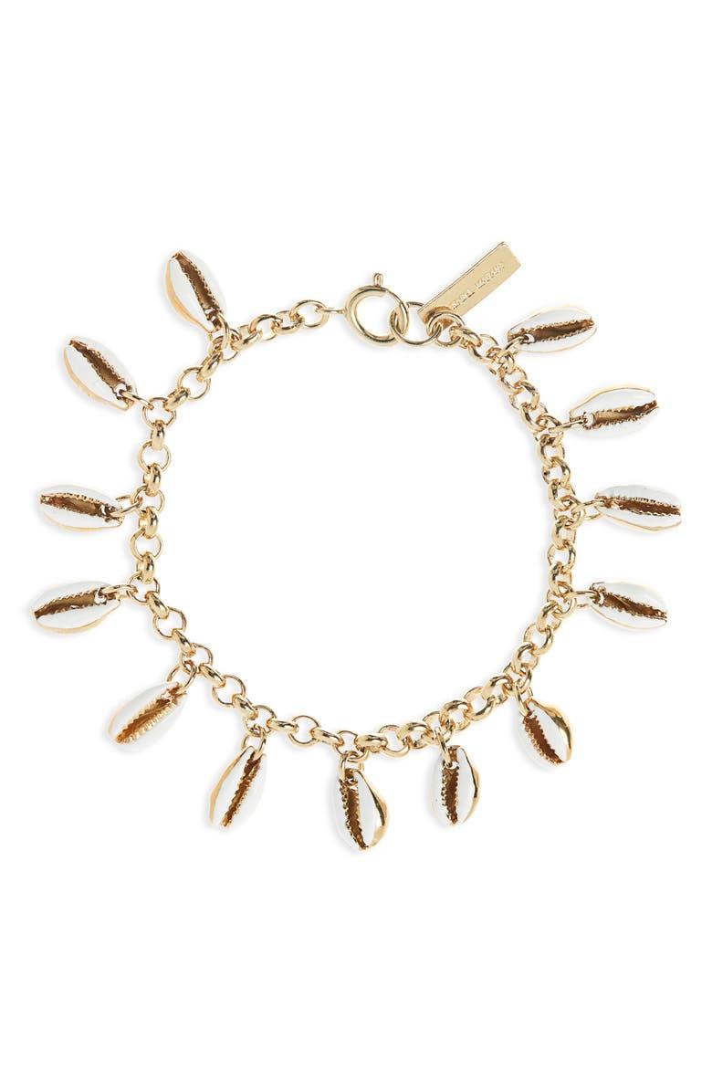 ISABEL MARANT New American Charm Bracelet, Main, color, ECRU