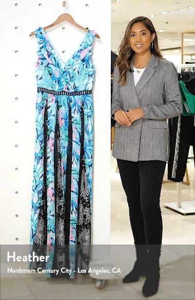 Janette Fit & Flare Maxi Dress, sales video thumbnail