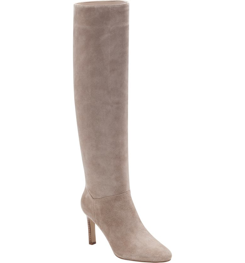 MARC FISHER LTD Zadia Boot, Main, color, MEDIUM NATURAL SUEDE