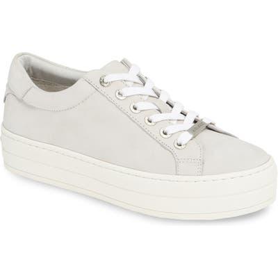 Jslides Hippie Platform Sneaker, White