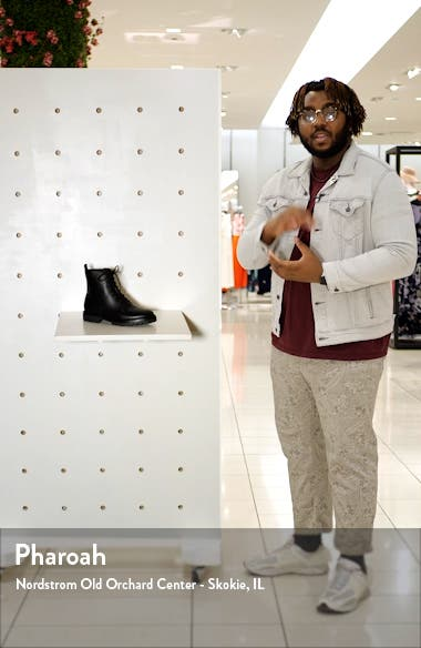Cabria Lug Water Resistant Lace-Up Boot, sales video thumbnail