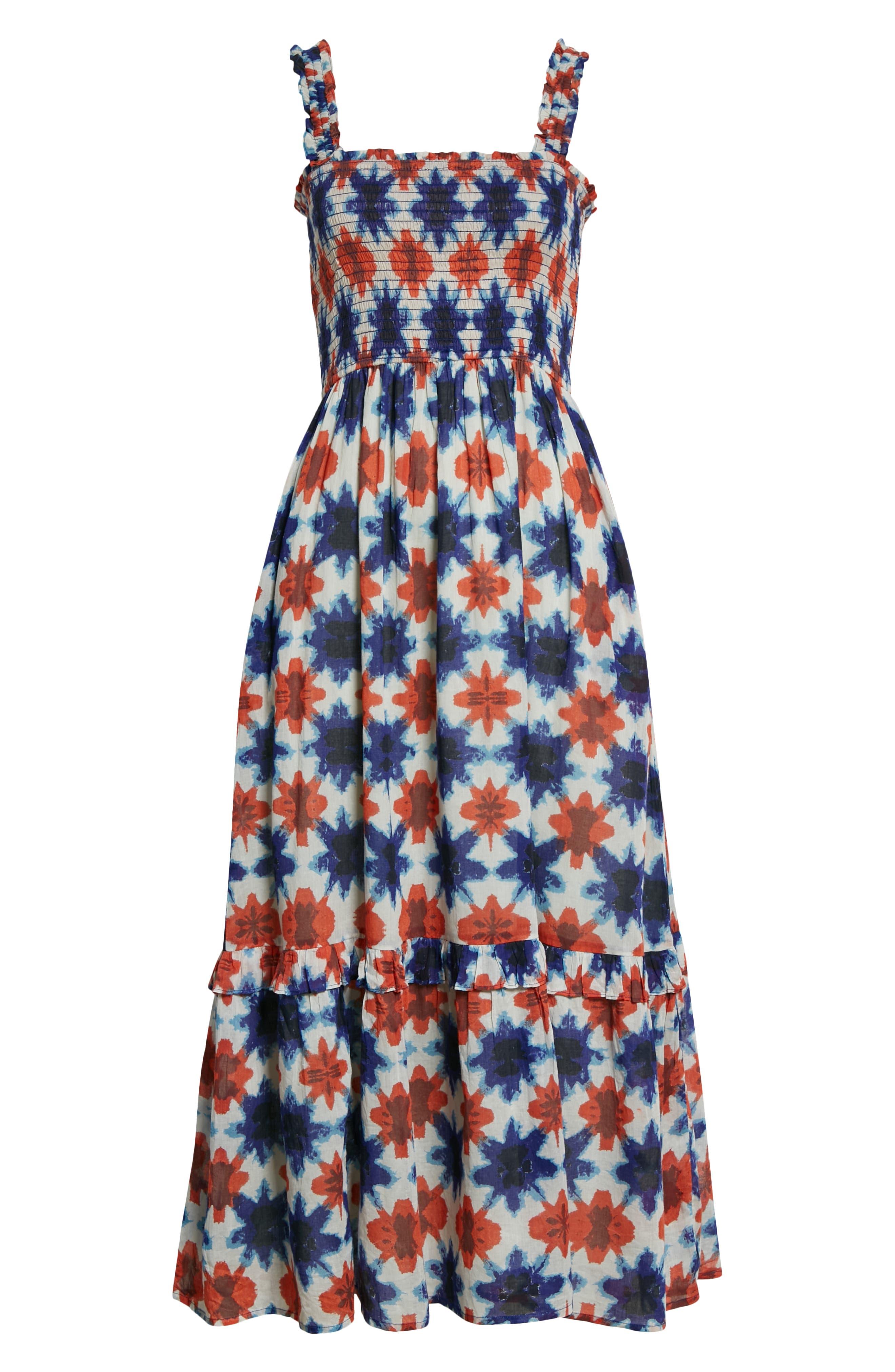 Women's Banjanan Dafina Print Organic Cotton Sundress
