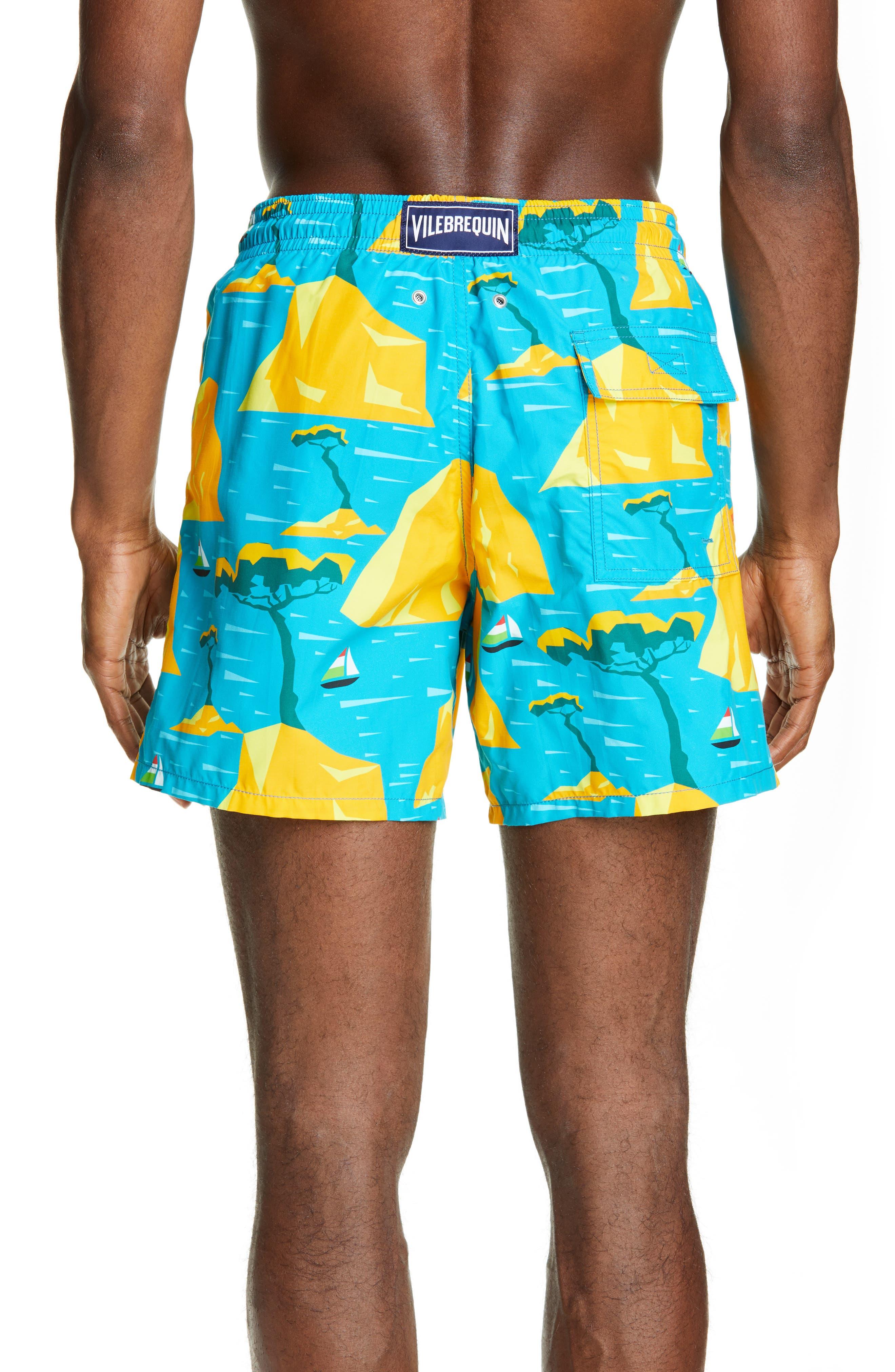,                             Capri Swim Trunks,                             Alternate thumbnail 2, color,                             SEYCHELLES